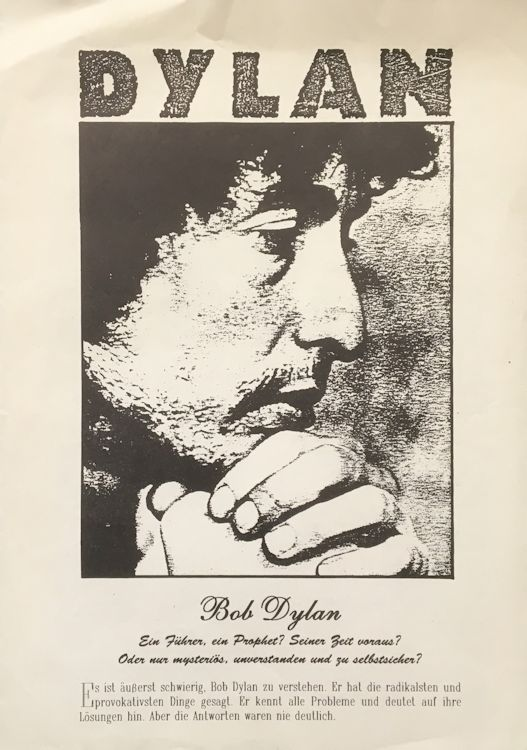 bob dylan twelve tribes 1996 germany booklet #3